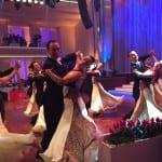 Spitzentänzer auf der internationalen Tanzgala