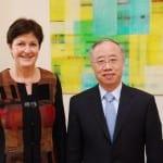 Chinesischer Generalkonsul macht Antrittsbesuch
