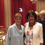 Ministerpräsidentin Kramp-Karrenbauer erhält Europapreis