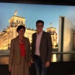 Margret Mergen im Gespräch mit Bundestagsabgeordneten Kai Whittaker, CDU