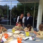 Frieder Burda und seine Kinderkunstwerkstatt