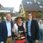 Margret Mergen beim 26. Stadtfest in Varnhalt, Baden-Baden