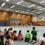 Spannendes Handballspiel beim TV Sandweier