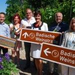 Die badische Weinstraße führt jetzt auch nach Norden
