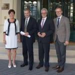 Kommissar Günther Oettinger in Baden-Baden