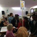 Internationale Suppenparty mit Asylbewerbern
