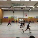 Damen Handballmannschaft sehr stark