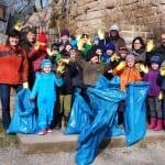 Putz Munter Aktion: Frühjahrsputz mit Schülern