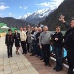 Antrittsbesuch in Partnerstadt Sotschi