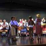 Folkloregruppe aus Menton