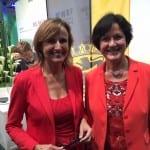 Mit Staatssekretärin Katrin Schütz auf der Expo Real