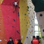 Kletterkunst beim Alpenverein