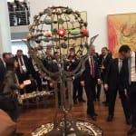 Kunstprojekt Global Stone Garden beim G 20 Treffen