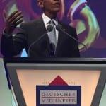 Barack Obama erhält Deutschen Medienpreis