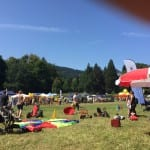 Kinder willkommen beim Riesenwiesenfest