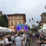 Marktplatzfest mit Weindorf
