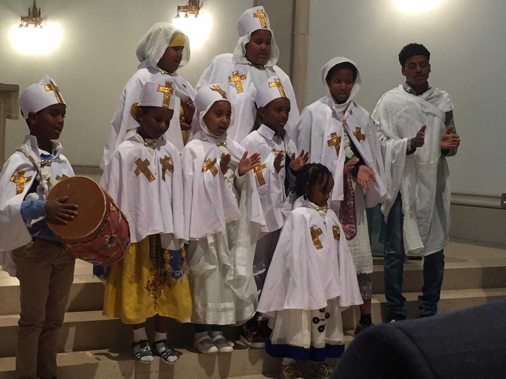 Interkultureller Gottesdienst mit Kindern aus Eritrea
