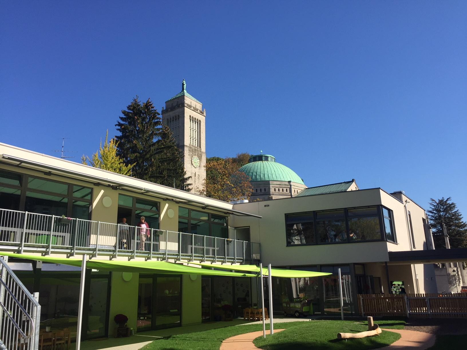 Neuen Kindergarten St. Bernhard eingeweiht