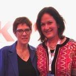Annegret Kramp-Karrenbauer ist neue Vorsitzende